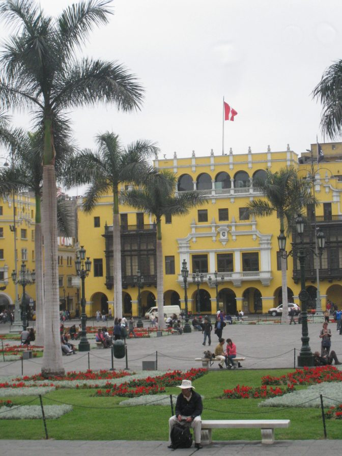 First day in Lima