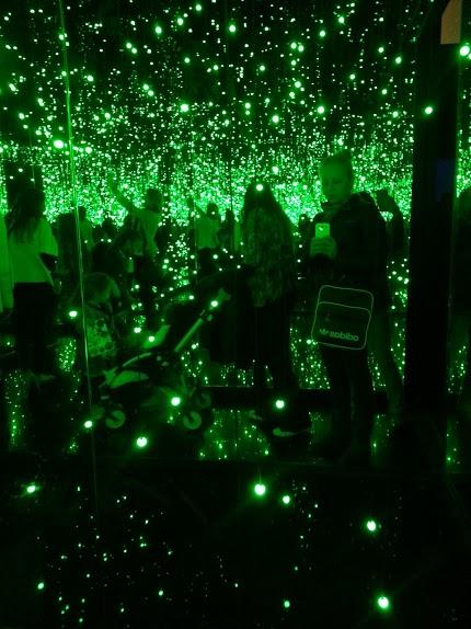 Inside Kusama's room of lights
