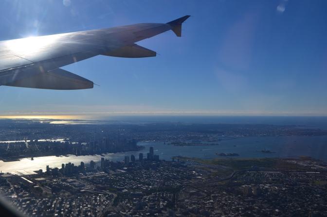 Arriving in Argentina